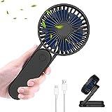 ITSHINY Plegable Mini Ventilador de Mano, Ventilador USB, Ventilador de Escritorio, Ventilador...