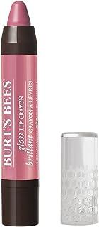 Burt's Bees 100% Natural Moisturizing Gloss Lip Crayon, Pink Lagoon - 1 Crayon