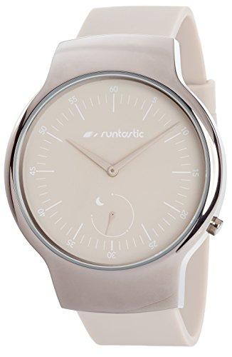Runtastic Moment BASIC Uhr & Aktivitätstracker (mit Silikonband) Beige