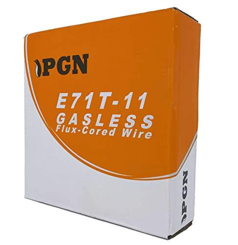 """PGN - E71T-11 .035"""" (0.9 mm) Gasless Flux Core Mild Steel MIG Welding Wire - 2 Lbs Spool"""