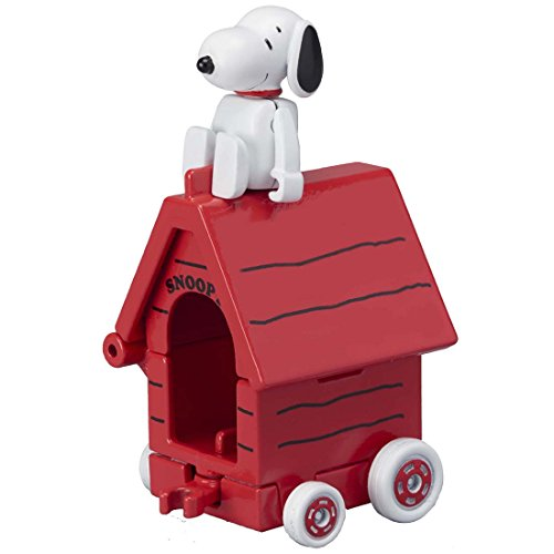 TAKARA TOMY Tomica Traum Tomica Fahrt R01 Snoopy × Haus Auto