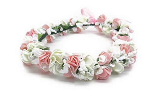 女の子憧れの ロマンチックな お花の 冠 結婚式 写真撮影などにも (オールタイプ)