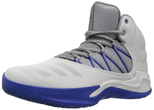 adidas Men's Ball 365 Inspired Basketball Shoes, One/Grey Three/Collegiate Royal, (8.5 M US)