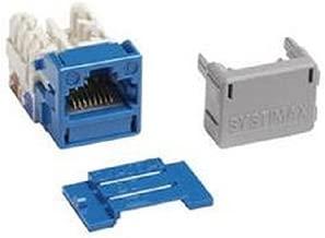SYSTIMAX GigaSPEED XL® MGS400-318 BLUE Cat6 JACKS - 100 PIECE LOT