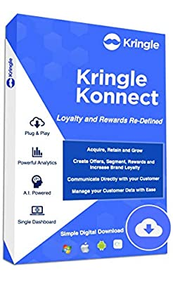 Kringle Konnect: Business Made Easy - CRM with Campaign Manger, Loyalty and Rewards Redemption – Communicate with your Customers [Amazon Exclusive][6 Month]