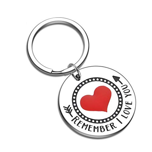 Mothers Day Gifts for Her Mom Stepmom Grandma Mother Mom Keychain from Daughter Son Couple Gifts Anniversary Birthday Wedding Gift from Wifey Hubby Fathers Day Gift Remember i Love You Mom Dad to be