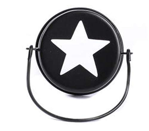 Hanging Mason Jar Lid Star Top | 3.75 Inch | Primitive Star Design