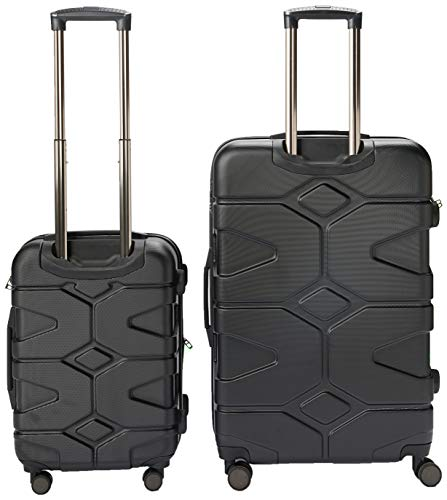 HAUPTSTADTKOFFER - X-Kölln - Luggage Suitcase Hardside Expandable Trolley 4 Wheel Spinner, TSA Lock, 76 cm, 120 Liter, Black