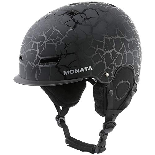 MONATA Adult Ski & Snowboard Helmet for Men and Women Winter Snow Sports Protect - Adjustable Large...