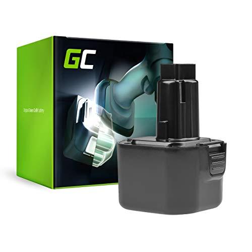 GC® (2Ah 9.6V Ni-MH) 246536 A9251 DE-9036 DE-9071 DE9036 DE9061 DE9062 DE9071 DW-9061 DW-9062 DW9061 DW9062 EZWA29 EZWA30 EZWA31 EZWA37 PS120 Batería para DeWalt/Black&Decker