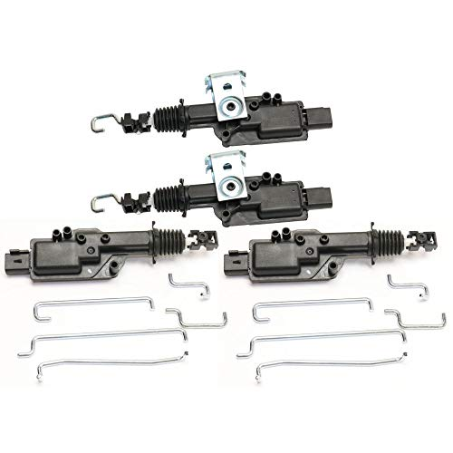 Door Lock Actuator compatible with Lincoln Continental 90-94 / Crown Victoria 92-94 / Explorer 98-01 / Explorer Sport Trac 01-03 Set of 4 Front and Rear Right and Left