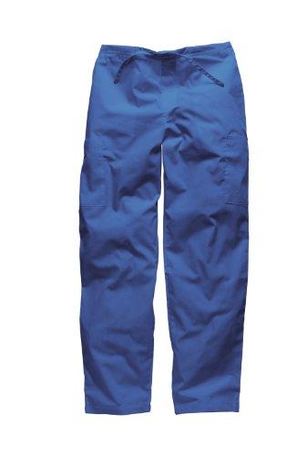 Dickies Workwear Medical Bundhose L mit Kordelzug Schlupfhose Damen und Herren Königsblau