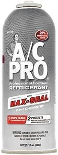Interdynamics A/C Pro Professional Formula Refrigerant with Max-Seal, 12 oz