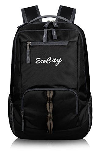 EcoCity Zaino in tela classico ideale per scuola o computer