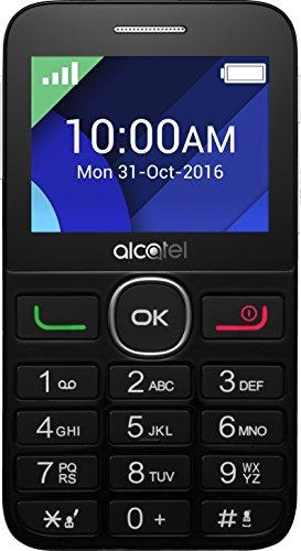 Alcatel 2008G-3AALDE1 Smartphone (6,1 cm (2,4 Zoll) Display, 16 GB Speicher) schwarz/weiß
