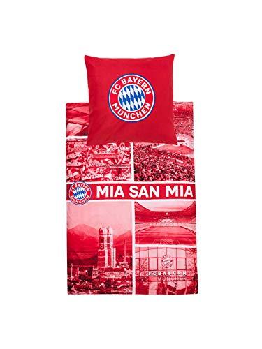 FC Bayern München Bettwäsche MIA SAN MIA