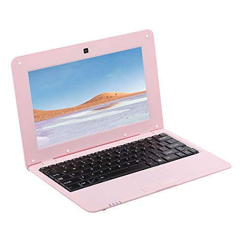 Fesjoy Netbook Lightweight - Ordenador portátil portátil de 10,1 pulgadas S500 1,5 G ARM Cortex-A9 / Android 5.1 / 1G + 8G / 1024 * 600, color rosa