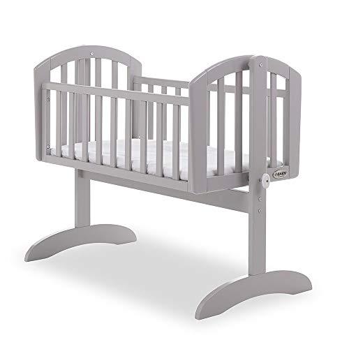 Obaby Sophie Swinging Crib, Taupe Grey