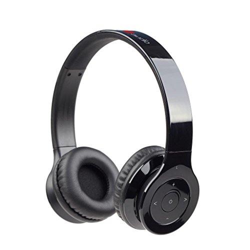 Gembird BHP-BER-BK Berlin Bluetooth Stereo-Headset schwarz