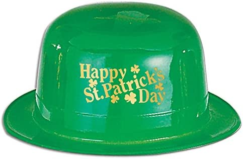 Pack of 48 Al sold out. Happy St. Patrick's Day Super sale Party Derby Hat Accesso Green