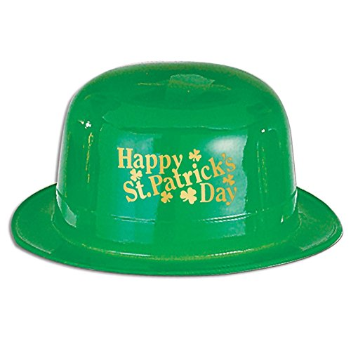 Find Bargain Pack of 48 Happy St. Patrick's Day Green Derby Hat Party Accessories