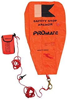 Promate Scuba Safety Float Stop Anchor Dive Marker Rescue Gear