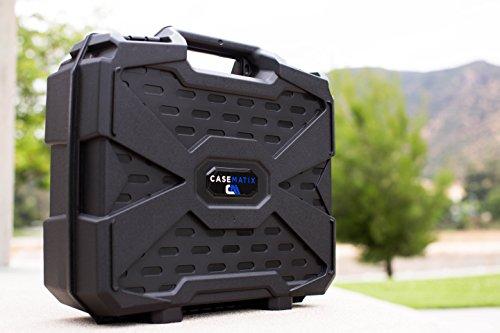 CASEMATIX Home Video Projector Hard Case Fits PowerLite and Home Cinema DLP WXGA 1080p 3D Projectors for Select Models Pro EX9200, 1781W, 1761W, 1284,640, 740HD, 1040 and More Projectors