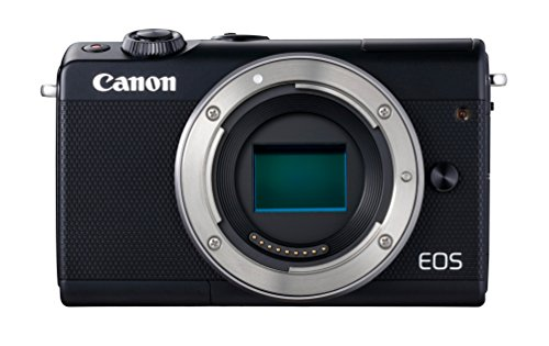 Canon EOS M100 Mirrorless Camera Wi-Fi, Bluetooth, and NFC Enabled (Black)