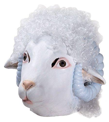 Forum Novelties Deluxe Schaf aus Latex Maske