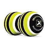 【日本正規品】 トリガーポイント(TRIGGERPOINT) マッサージボール MB2 ローラー 首・背中用 筋膜リリース ストレッチボール グリーン 03314