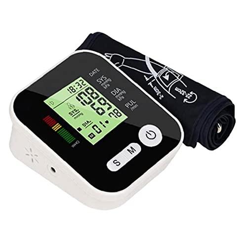 AtheMeet TESTADOR DE PRESIÓN DE PRESIÓN ARTICA Arma Superior LCD Pantalla LCD Automático Dispositivo de medición de presión Arterial Negro