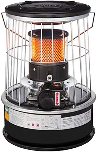 ALPACA TS-77A Compact size Kerosene Oil Heater Glass Burner Winter Camping Outdoor +Stove Bag Set (Random Color)