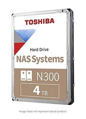 "Toshiba N300 NAS 3.5"" Internal Hard Drive- SATA 6 Gb/s 7200 RPM 128MB"