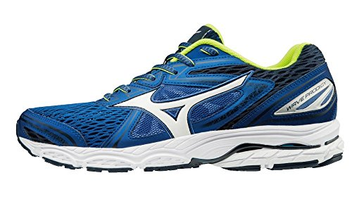 Mizuno Wave Prodigy, Zapatillas de Running para Hombre, Multicolor (Darkshadow/Black/Jasminegreen), 42 EU