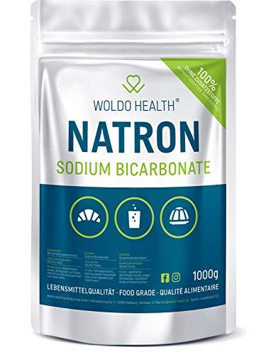 Natron Pulver in Lebensmittelqualität 1kg - in wiederverschießbaren Beutel