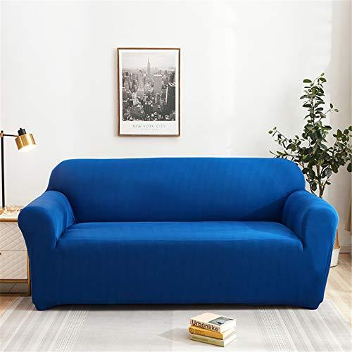 Funda Protectora Elástica para Sofá Funda De Sofá Antideslizante De Color Sólido Opcional Multicolor El Sofá En Forma De L Requiere 2 Fundas De Sofá 3 Seater (190-230 cm)