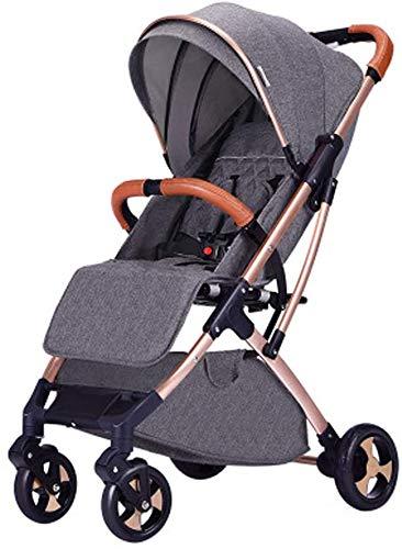 DAGCOT Cochecito de bebé recién nacido de peso ligero carro de bebé...
