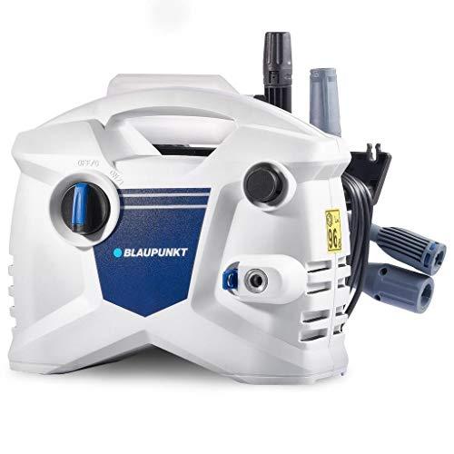 Nettoyeur haute pression portable Blaupunkt PW2100A - Nettoyeur d'eau à pression avec moteur électrique 1400W 240V - Comprend un tuyau, une lance Vario et un pistolet à détergent