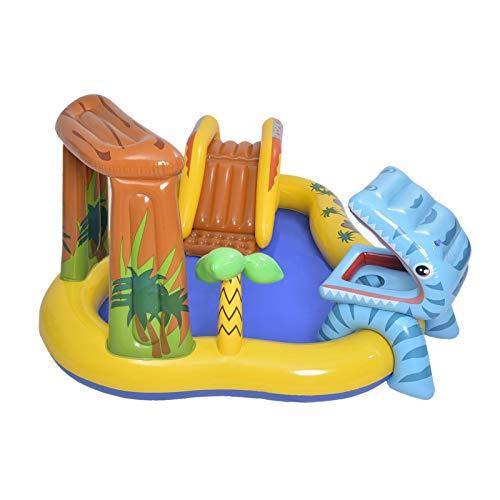 Yoouo - Centro de juegos hinchable de dinosaurio Blow Up Water Fun Pool Niños Familia Piscina para Niños Niños