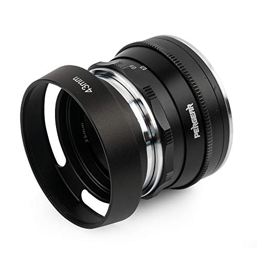 Pergear 35mm F1.6 Objektiv für Sony E-Mount NEX-5 NEX-C3 NEX-5N NEX-7 NEX-F3 NEX-5R NEX-3N NEX-5T A3000 A5000 A6000