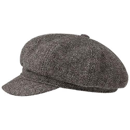 Stetson Gorra Newsboy 8-Panel Wool Mujer/Hombre -