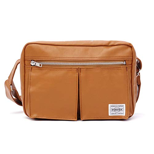 Yoshida Bag Porter Freestyle Shoulder Bag Camel 707-08212
