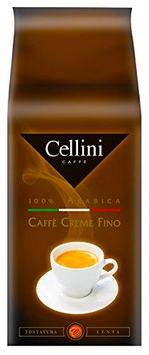 Cellini Caffè Creme Fino Ganze Bohne, 1000 g, 1er Pack (1 x 1 kg)