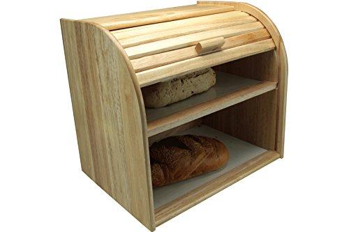 Apollo Brotkasten, Gummi und Holz, Zwei Fächer