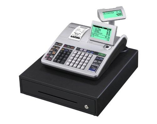 Casio SE-S400MB-SR GDPdU - Caja registradora (10 líneas en