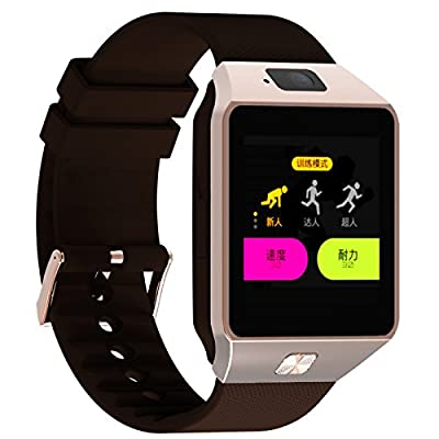 Lincass Smartwatch Fitness Tracker Bluetooth Smart Watch Wristwatch Smartwatch with Pedometer Anti-Lost Camera for iPhone Samsung Huawei Android Phones
