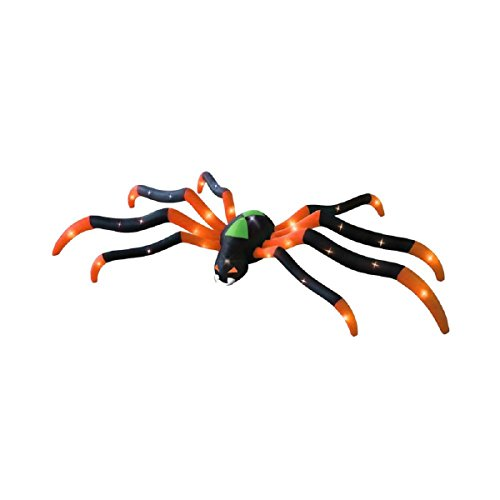 Giant Inflatable Spider to Add a Spooky Touch