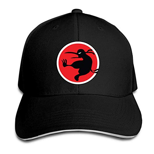 ZhangLinFu Unisex Sandwich Cap Ninja Kiwi Verstellbare Mode Papa Hut für Frauen Männer Baseball Cap Sandwish Hat
