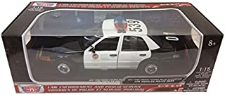 Motormax 1:18 2001 Ford Crown Victoria Los Angeles Police Department LAPD Toy