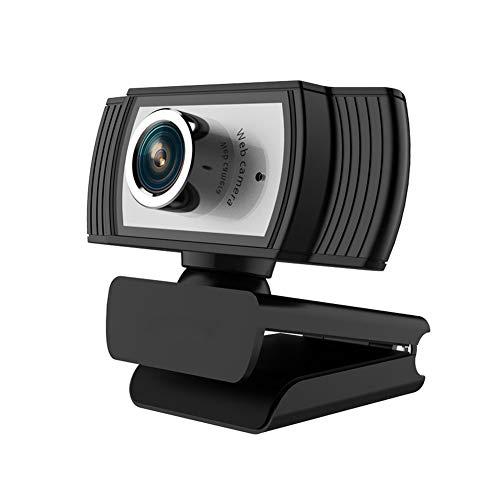 KXHWSH HD 1080P Webcam Mit Eingebautem Mikrofon USB Plug and Play, Für Live-Streaming, Spiele, Anrufe und Besprechungen Computerkamera